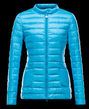 Moncler Women Down Jacket Dali Blue Store Price