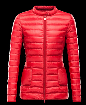 Moncler Women Down Jacket Dali Red Store Price