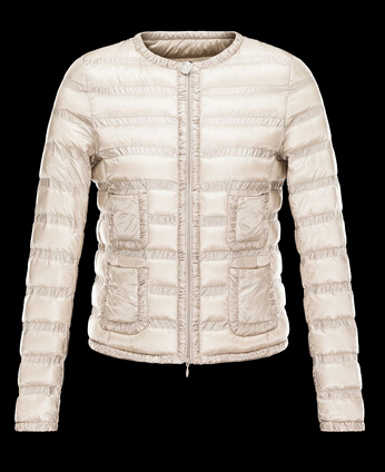 Moncler Down Jacket Duvet Women LISSY Jacket Beige