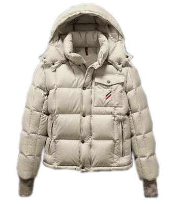 Moncler Men's Reynold Hooded Jacket White