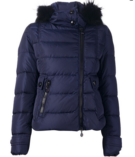 Moncler Jacket Down Jacket Women Fur Hood Sale