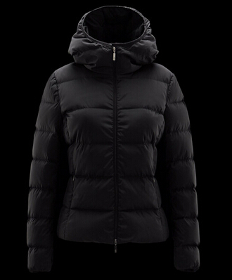 Moncler Down Jacket Women's Down Jacket france Black