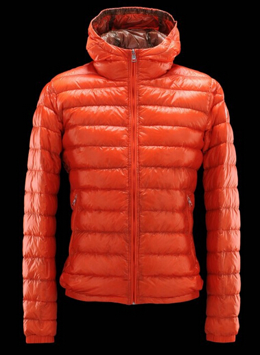 Moncler Down Jacket Women's Down Jacket france Orange