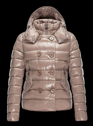 Moncler Plane Down Jacket Women Short Beige