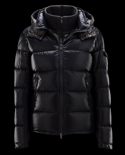 Moncler Jacket Zin Down Jacket Men Hooded Parka Blue