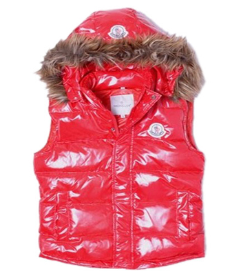 Moncler jacket down jacket woman fur hood