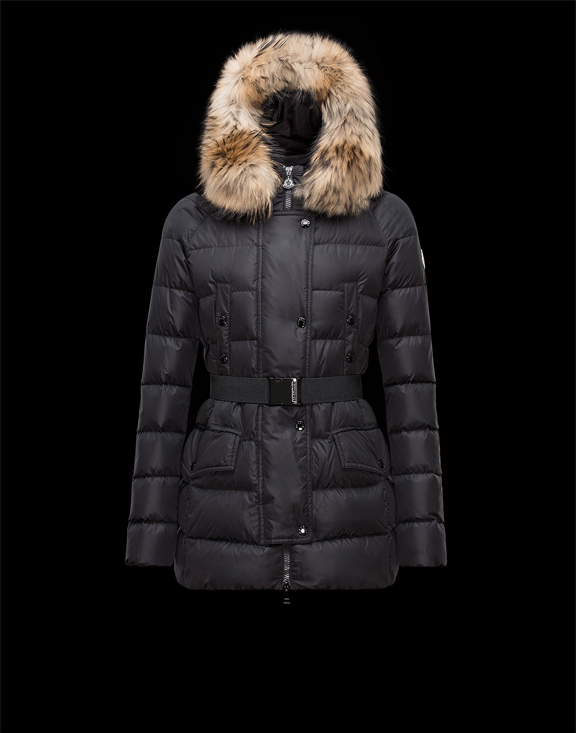 Women Moncler Down Jackets Clio Black