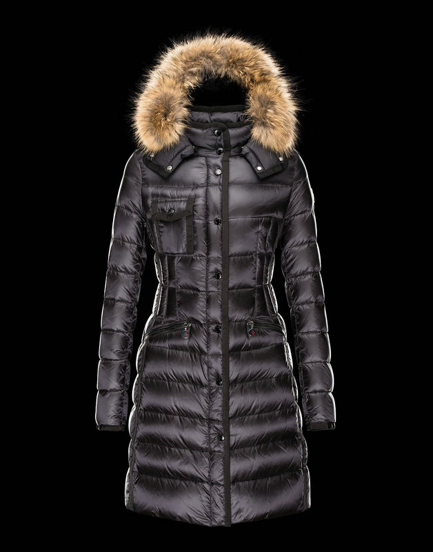 Women Moncler Down Jackets Hermifur Black
