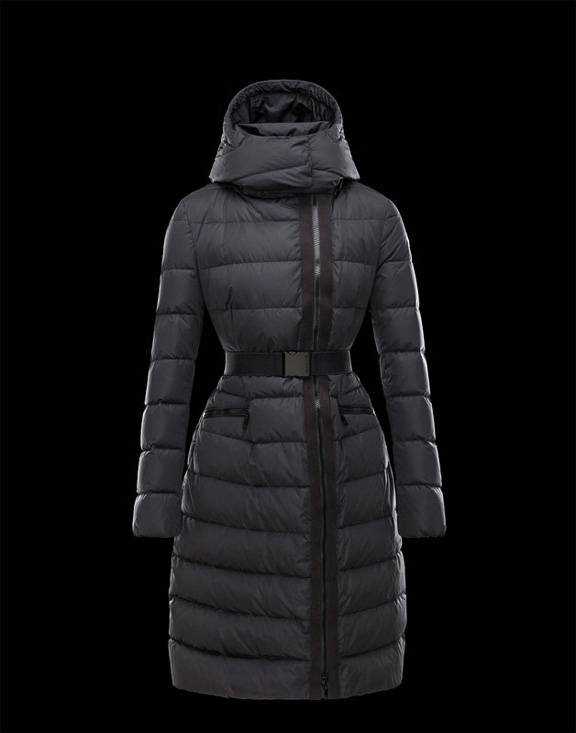 Women Moncler Down Jackets Lanoux Black