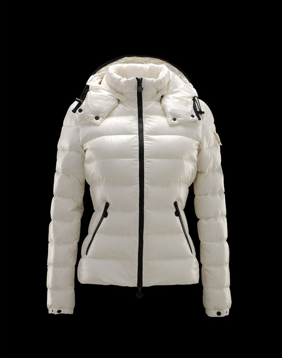 Women Moncler Jackets & Coats Bady White
