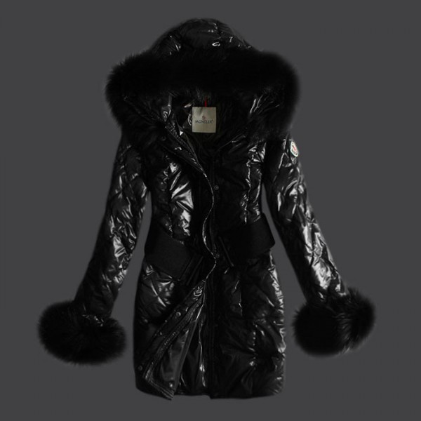Moncler jacket Blessedly black hooded jacket