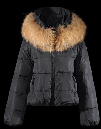 Moncler Women's Short Parka Black