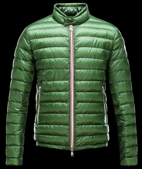 Moncler Men's Down Jacket Winter Parka Green