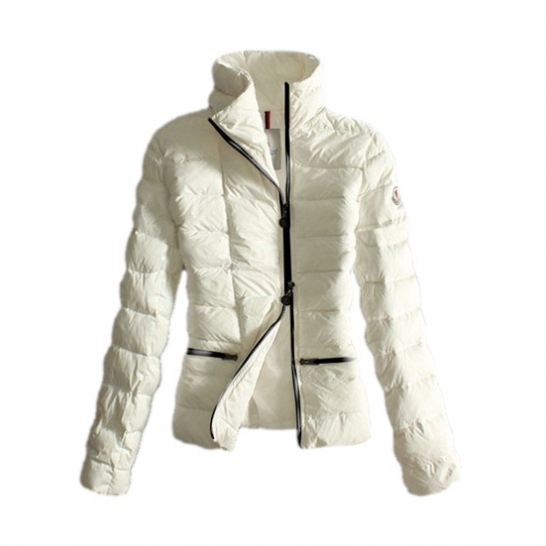 Moncler Fashion White Jacket Women