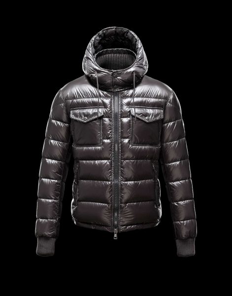 Moncler FEDOR Featured Down Jackets Mens Gray