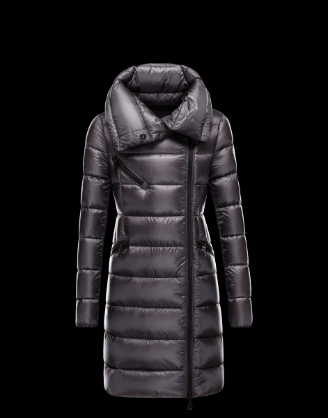 Moncler FLOWERS long down jackets Gray