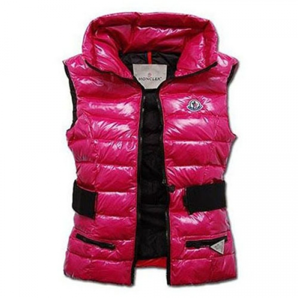 Moncler Gaelle Women Vest Rose For Sale