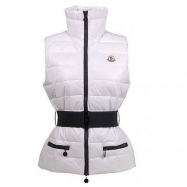Moncler Gaelle Women Vest White For Sale