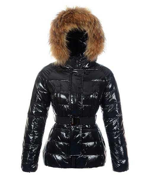 Moncler Gene Design Down Jackets Women Decorative Belt Black