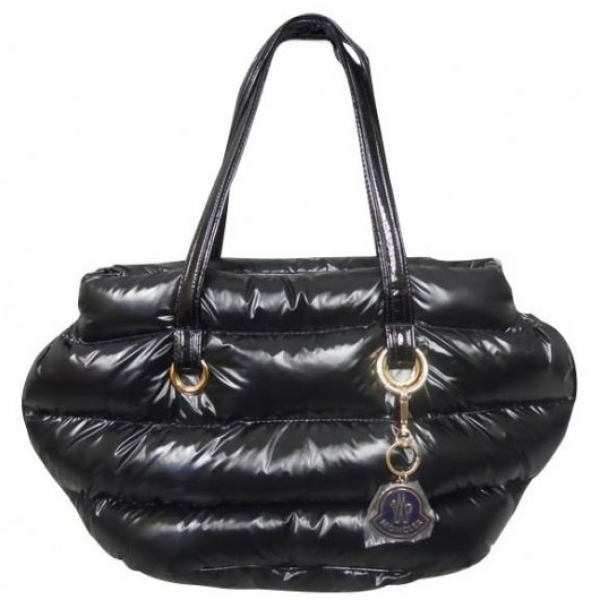 Moncler Handbags Black For Sale