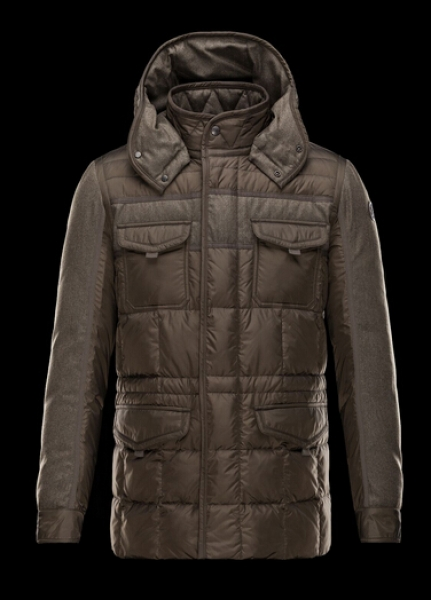 Moncler Jacob Jacket For Men Brown Down Jacket
