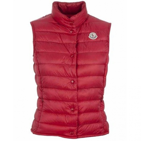 Moncler Liane Women Vest Red For Sale