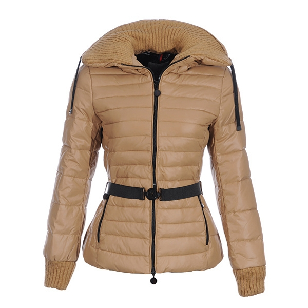 Moncler Lierre Women Jacket Khaki For Sale