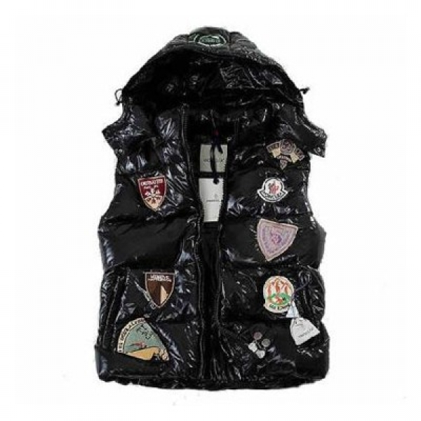 Moncler Limited Edition Black Vest Men