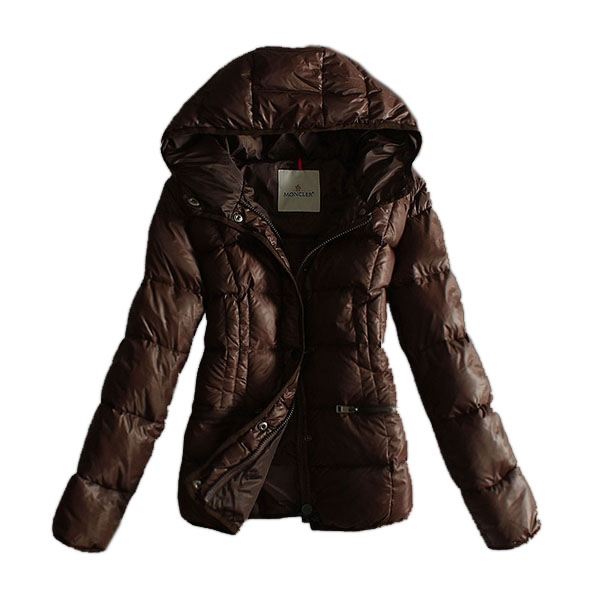 Buy Moncler Women Down Jacket Hoody Parka Cafe