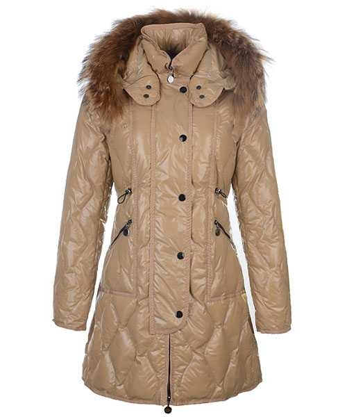 Moncler Lontre Designer Coat For Women Khaki
