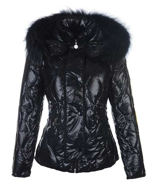 Moncler Lontre Fashion For Women Down Jackets Black