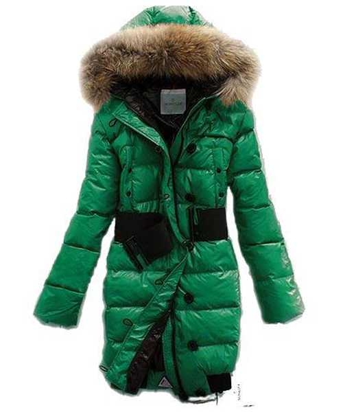 Moncler LUCIE New Women Pop Star Green Coat Down