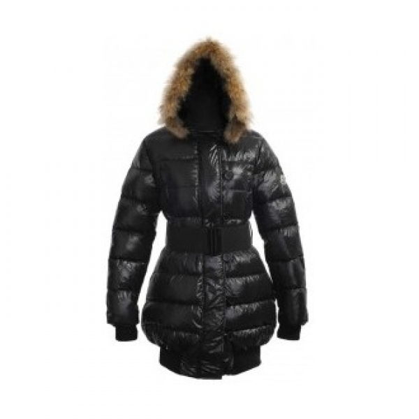 Moncler Lucie Pop Star Down Black Coat Women