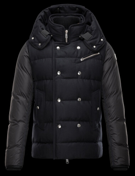 Moncler LUCIEN Men Winter Jacket Hooded Black