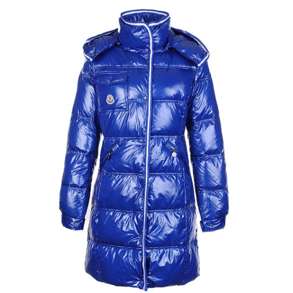 Moncler Manche Women Coat Blue For Sale