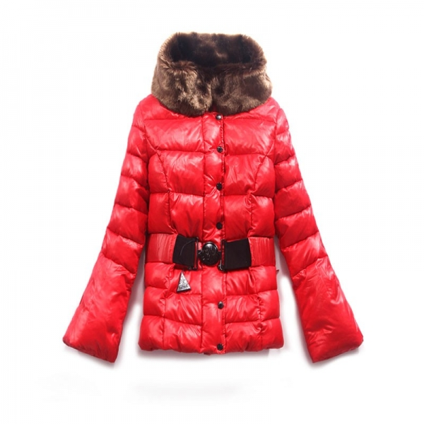 Moncler Pop Stars New Red Coat Women