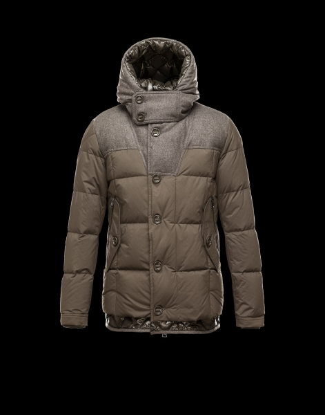 Moncler PYRENEES Jacket For Men Hooded Army Green
