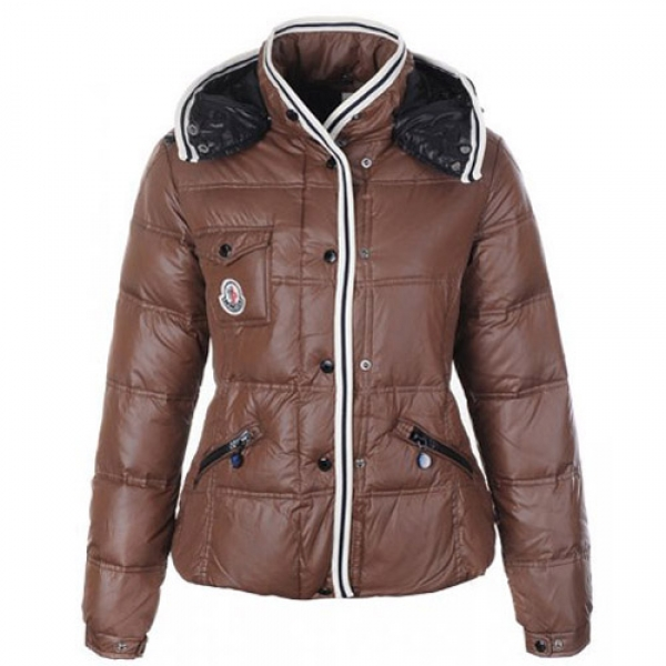 Moncler Quincy Women Jacket Khaki For Sale