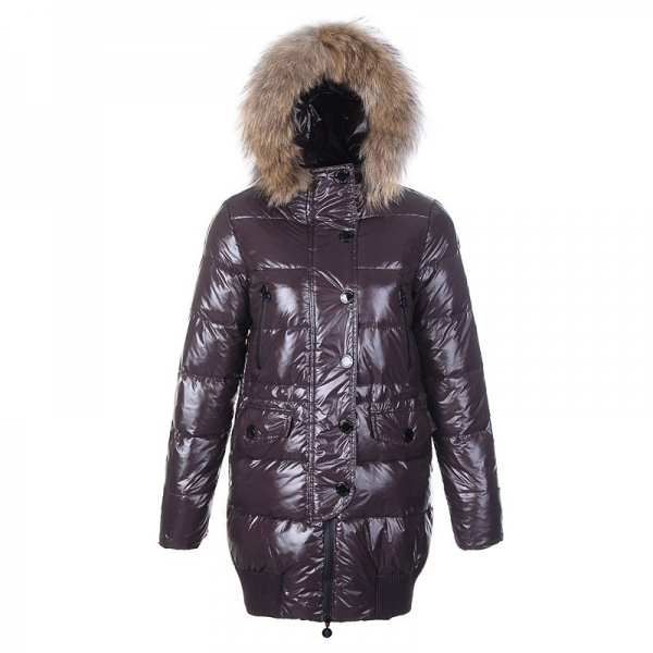 Moncler Rabbit Hats Light Yellow Coat Women