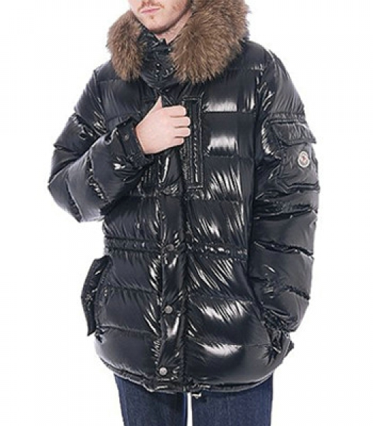 Moncler Rod Coat Down Men Black