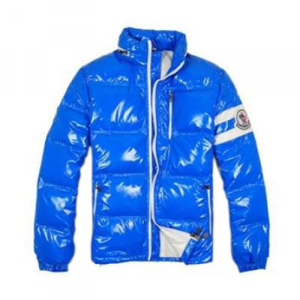 Moncler Special Limited Edition Blue Jacket Men