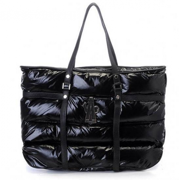 Moncler Tote Bags Black For Sale