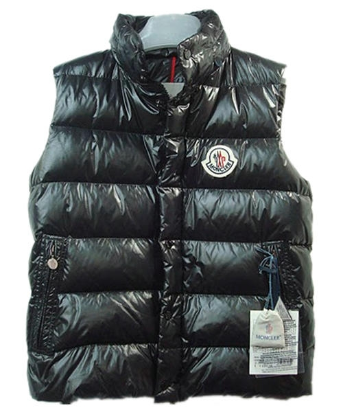 Moncler Vests Women Quilted Warmer Body Navy Black