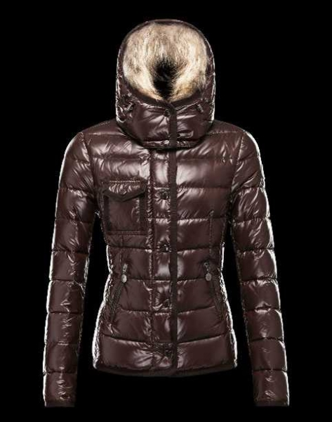 Hot Sell Moncler Armoise Down Jackets For Women Brown