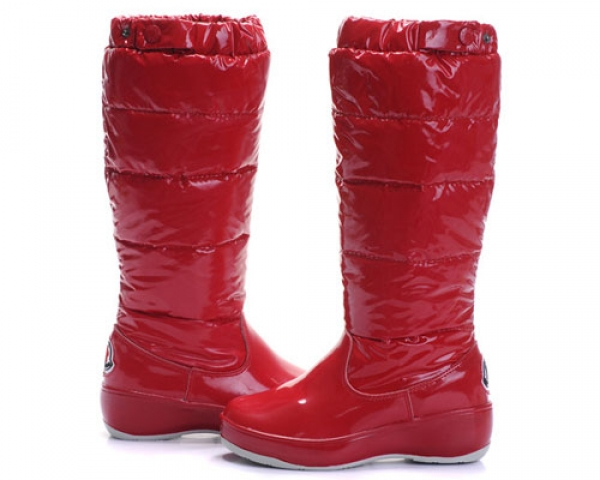 Moncler Women Boot Garnet For Sale