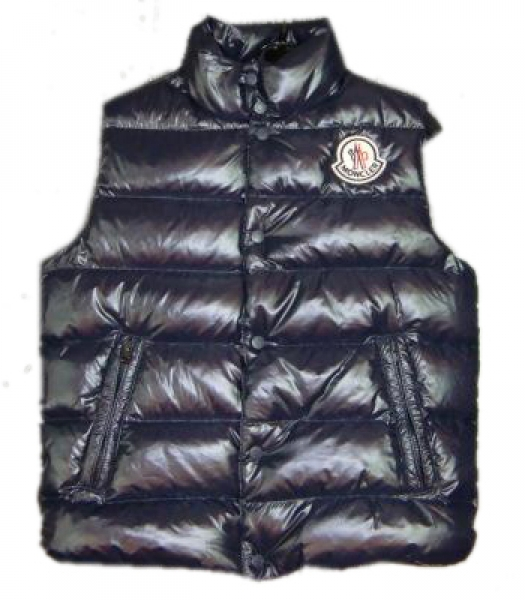 Men Moncler Clairy Sleeveless Vest Black