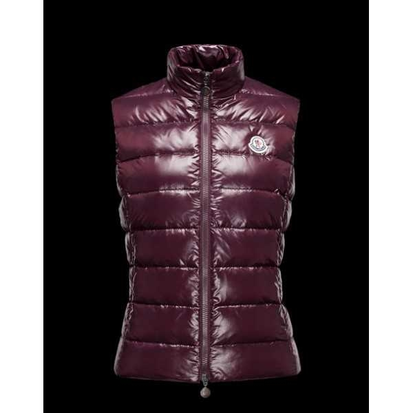 Moncler Women Vest Ghany Purple