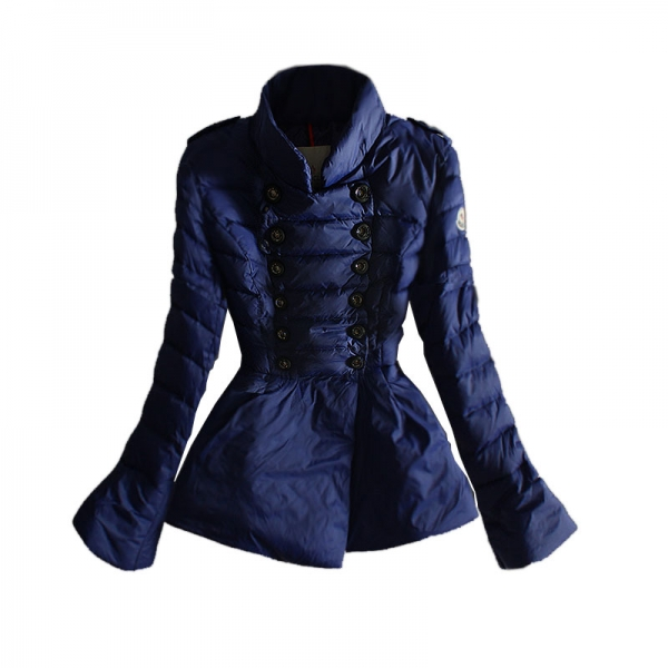Moncler Women's Down Jacket Blue