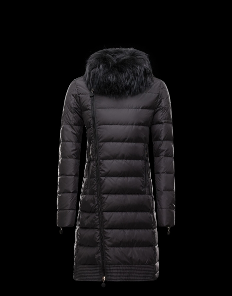Moncler Women's Fur Collar Coat