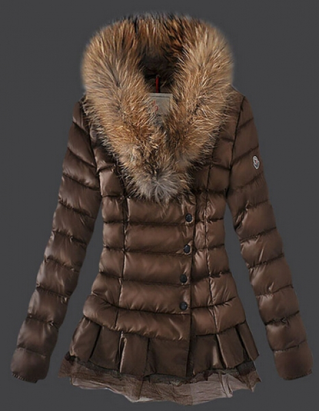 Moncler Women's Fur Collar Jacket